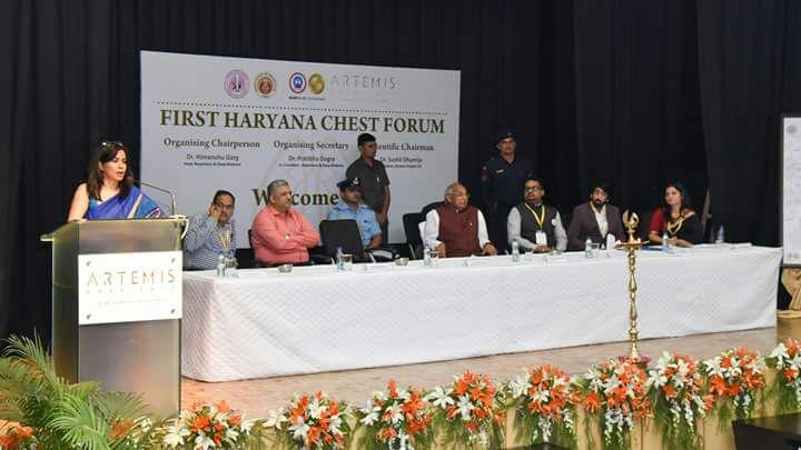 inauguration of the haryana chest summit 2018
