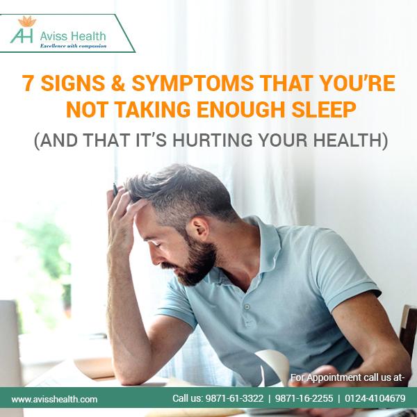 7 symptoms of poor sleep