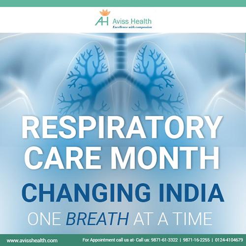 Aviss Health celebrates November as Respiratory Care Month